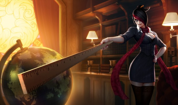 League of Legends Fiora Headmistress