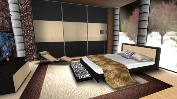 Second Life bed