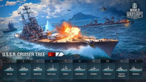 Warships Soviet Cruisers