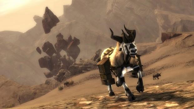 GW2 WvW Desert Dolyak