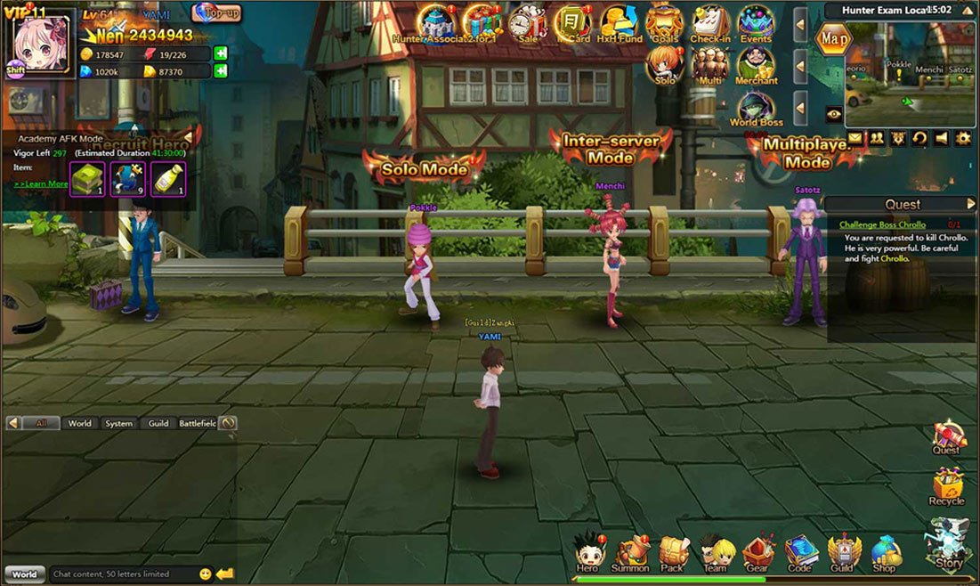 Hunter X Hunter Online screenshots (3)