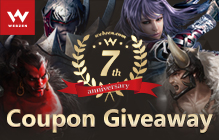 Webzen's Multi-Game 7th Anniversary Giveaway