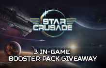 Star Crusade Booster Pack Giveaway