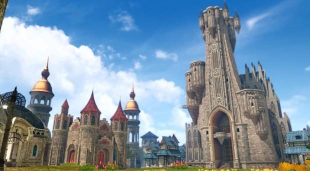 ArcheAge Main Castle