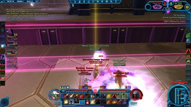 SWTOR Huttball Jasons First Goal