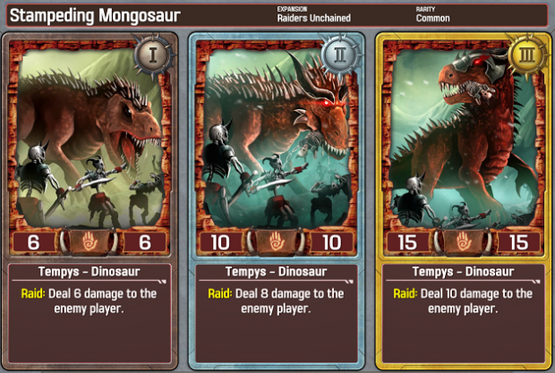 Solforge StampedingMongosaur