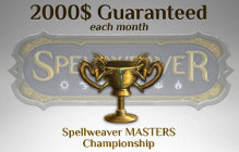 Spellweaver Introduces Master's Championship