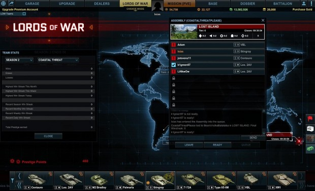 Armored Warfare Lords of War