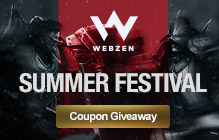 Webzen Summer Package Giveaway