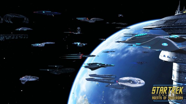 Star Trek Agents of Yesterday Ships