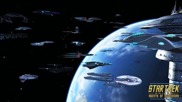 Star Trek Agents of Yesterday Ships