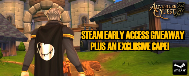 AQ3D Steam Early Access Giveaway Plus an Exclusive Cape