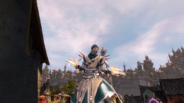Guild Wars 2 Crystal Outfit