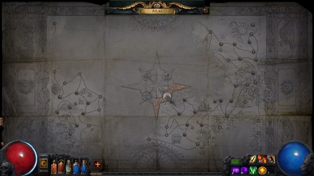 Path of Exile Atlas of Worlds Atlas