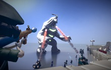 PS4 Builder/Shooter Game The Tomorrow Children Going Free-To-Play