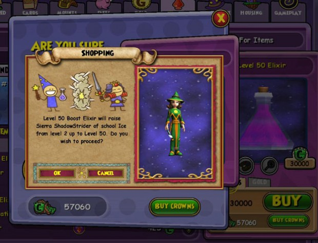 Wizard101 50 boost