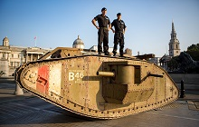 World of Tanks Rolls Over London With Replica WWI Tank