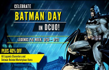 DCUO Celebrates Batman Day For A Week