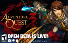 AdventureQuest 3D Open Beta Goes Live