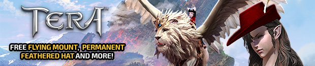 TERA Fang and Feather Celebration Giveaway (NA ONLY) - MMO Bomb
