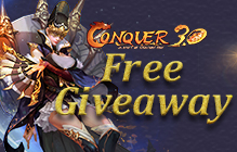 Conquer Online New Player Grand Gift Box Giveaway