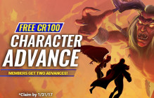 DCUO Implements Advance to CR100 Option