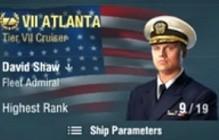 Warships commander