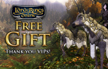 Standing Stone Games Offers Gift Horse To VIP LotRO Players