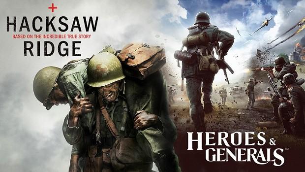 Heroes Generals Hacksaw Ridge