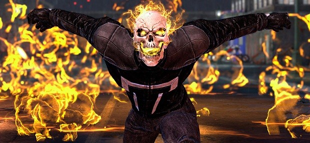 Marvel Heroes Ghost Rider