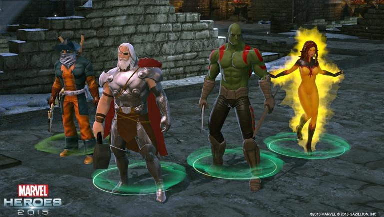 Marvel heroes online giveaways