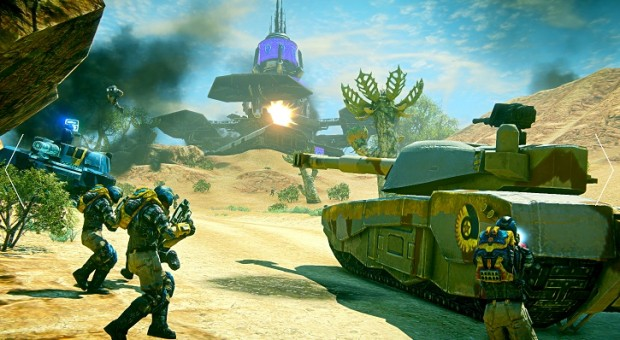 PlanetSide 2 Combined Arms