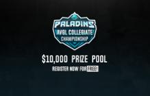 AVGL College Sports Announces $10,000 Paladins League