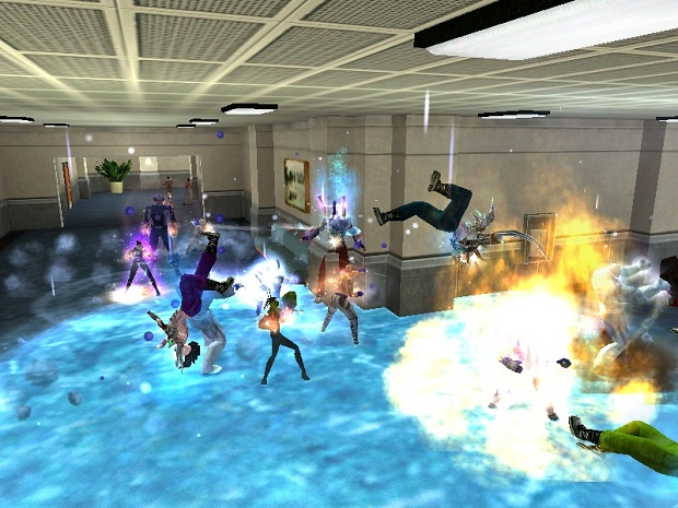 City of Heroes Elemental Furries