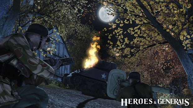 Heroes Generals Engine Room
