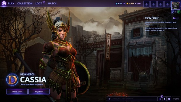 Heroes of the Storm Cassia
