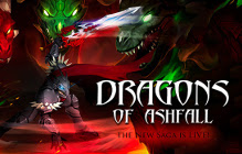 "AQ3D ""The Dragons Of Ashfall"" Saga Goes Live"