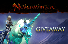 Neverwinter Cloaked Ascendancy Unicorn Mount Giveaway (PS4 & XBox One Only)