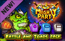 Mighty Party: Battle and Toads Pack DLC Giveaway (Steam)