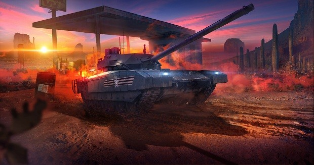 Armored Warfare t-14_arizona