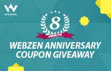 Webzen's 8th Anniversary Giveaway