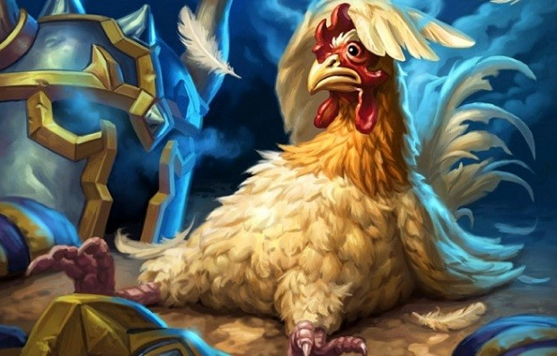 Hearthstone Angry Chicken