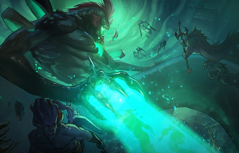 First Act Of Dota 2's Co-op Campaign, Siltbreaker, Is Now Live
