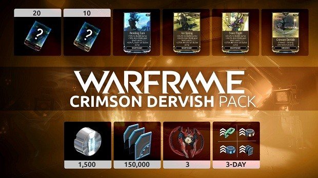 Warframe Crimson Dervish Pack