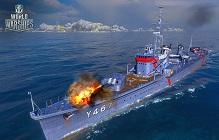 World of Warships Offers Anime-Inspired High School Fleet Ships