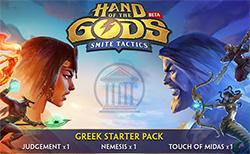 Hand of the Gods: SMITE Tactics Greek Starter Pack Giveaway