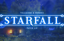 Villagers And Heroes Starfall Update Introducing  Loot System Revamp