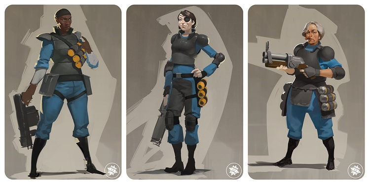 Artist Reveals That Valve Considered Female Team Fortress 2