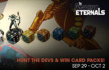 Hunt Down Amazing Eternals Developers And Destroy Them To Earn Free Booster Packs