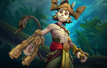 The Overly-Excited Ska'drin Talus Arrives in Paladins Today